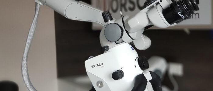 Mikroskop für Wurzelbehandlung